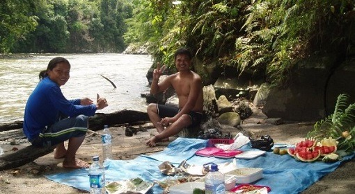Bukit Lawang Rafting - Lunch